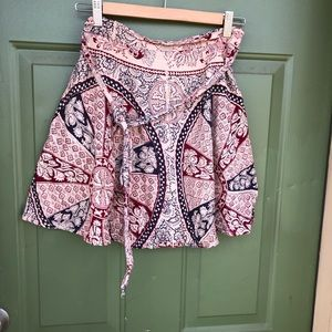 Skirts - Vintage Mini Wrap Skirt